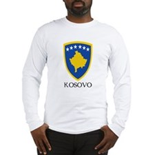 Kosovo Coat of Arms Long Sleeve T-Shirt
