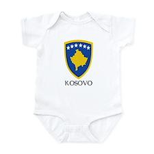 Kosovo Coat of Arms Infant Bodysuit