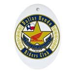 DHRC Oval Ornament