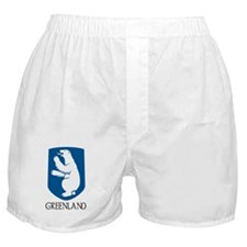 Greenland Coat of Arms Boxer Shorts