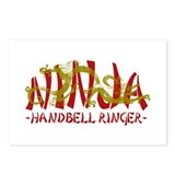 Dragon Ninja Handbell Ringer Postcards (Package of