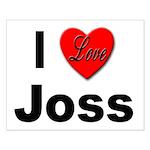 I Love Joss for Joss Lovers Small Poster