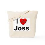 I Love Joss for Joss Lovers Tote Bag