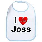I Love Joss for Joss Lovers Bib