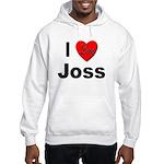 I Love Joss (Front) Hooded Sweatshirt