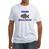 Piranha Trapped In A Man's Body Shirt