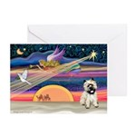 XmasSunrise/3 Cairns Greeting Cards (Pk of 10)