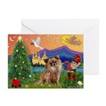 Night Flight/Chihuahua Greeting Cards (Pk of 20)