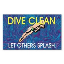TOP Dive Clean Decal