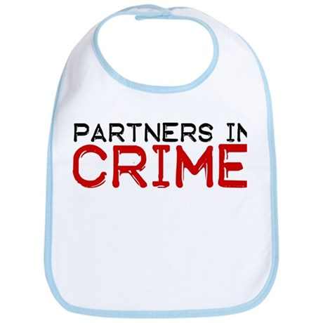 Partners In CRIME Bib