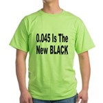 0.045 IS THE NEW BLACK Green T-Shirt