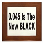 0.045 IS THE NEW BLACK Framed Tile