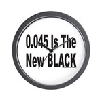 0.045 IS THE NEW BLACK Wall Clock