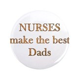 Unique Male nurse 3.5&quot; Button