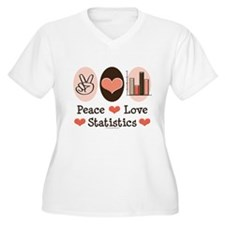 Peace Love Statistics T-Shirt
