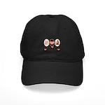 Peace Love Statistics Statistician Black Cap