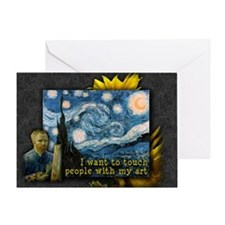 Van Gogh Starry Night Greeting Card