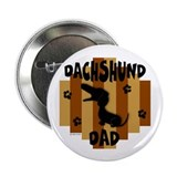 "Dachshund Dad 2.25"" Button (10 pack)"
