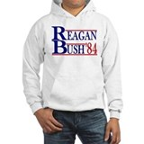 Reagan Bush 1984 Hoodie