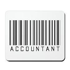 Accountant Barcode Mousepad