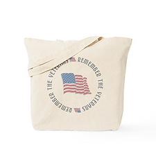 Remember the Veterans Tote Bag