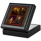 Faces of Rembrandt Keepsake Box
