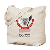 Congo Coat of Arms Tote Bag