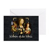 Women of da Vinci Greeting Card