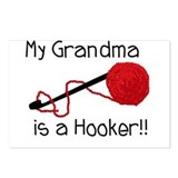 My Grandma is a Hooker Postcards (Package of 8)