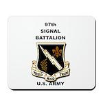 97TH SIGNAL BATTALION Mousepad