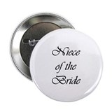 Niece of the Bride Vivaldi Button