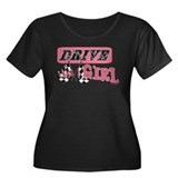 Drive Like A Girl Women's Plus Size Scoop Neck Dar