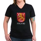 Finland Coat of Arms Shirt