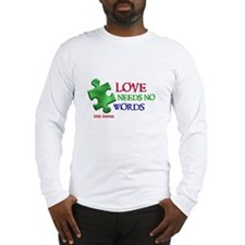 Love Needs No Words 1 Long Sleeve T-Shirt
