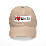 I Love Equestrian Cap