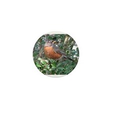 Robin Redbreast Mini Button (10 pack)