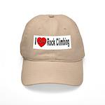 I Love Rock Climbing Cap