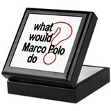 Marco Polo Keepsake Box