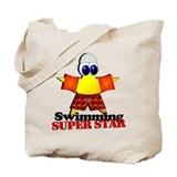 Swimming Super Star Tote Bag
