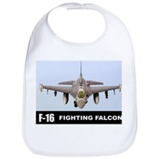 F-16 Falcon Fighter Bib