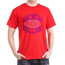 AMERICAN BULLDOG MOM T-Shirt