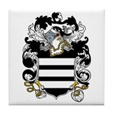 Lea Family Crest Tile Coaster
