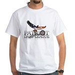 Patriot Dart League White T-Shirt