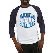 AMERICAN BULLDOG DAD Baseball Jersey