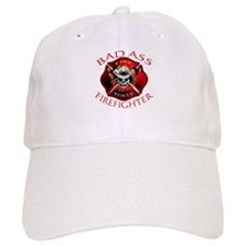 Bad Ass Firefighter Baseball Cap