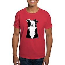 White Border Collie T-Shirt