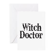 Witch Doctor Greeting Cards (Pk of 10)