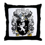 Lewis Family Crest Throw Pillow