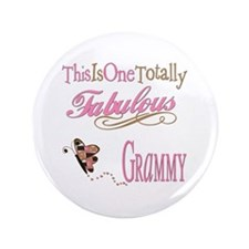 "Fabulous Grammy 3.5"" Button"