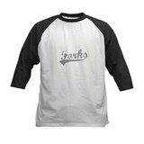 Grey Forks Baseball Tee